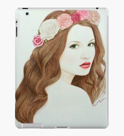 Blumenmädchen 2014 iPad Case/Skin