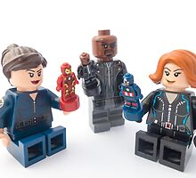 Nick Fury only plays with Nick Fury by wheresmypants