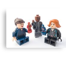 Nick Fury only plays with Nick Fury Canvas Print