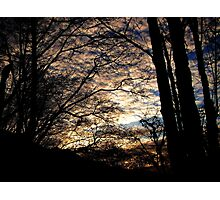 End of the Day Photographic Print