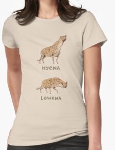 Hyena Lowena Womens Fitted T-Shirt
