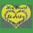 My Heart is Arty by KazM