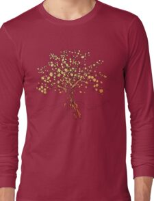 Bright Autumn tree Long Sleeve T-Shirt