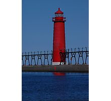Grand Haven Keeper of the Light Photographic Print