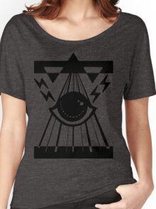 dark psychic attack Women's Relaxed Fit T-Shirt