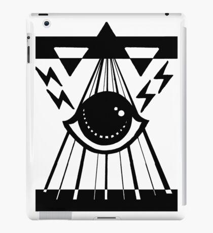 dark psychic attack iPad Case/Skin