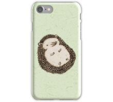 Plump Hedgehog iPhone Case/Skin