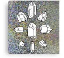crystal collection Canvas Print