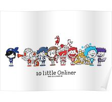 10 little Onliner Poster