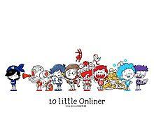 10 little Onliner Photographic Print