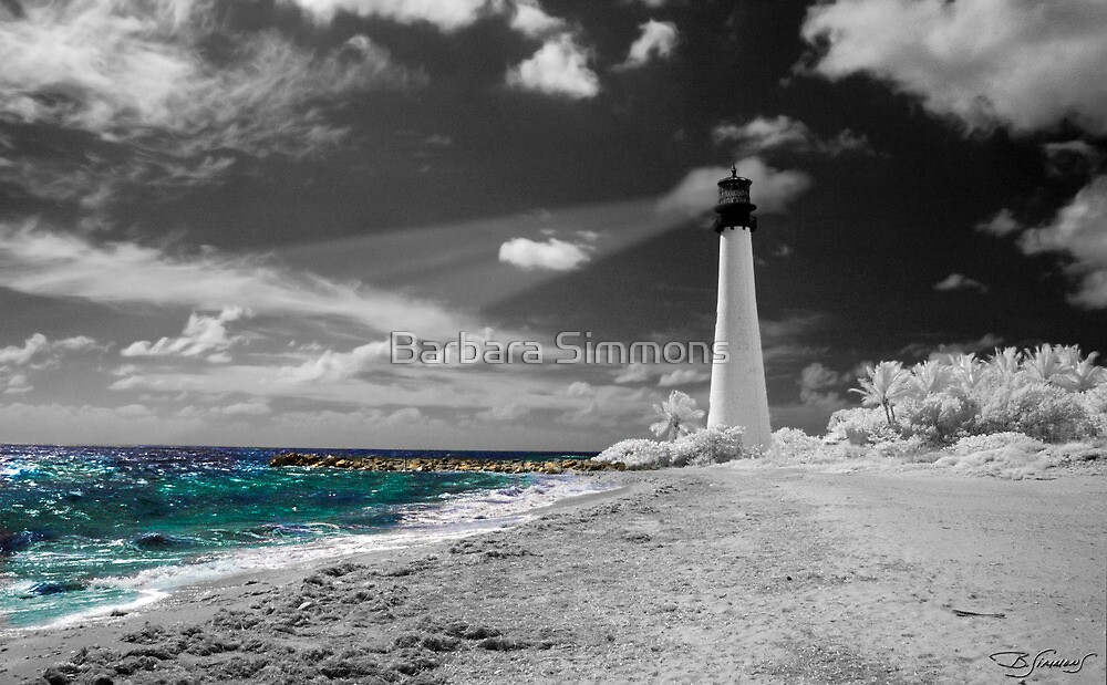 """Cape Florida Lighthouse"" by Barbara Simmons"
