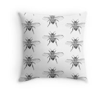 Bee Study Throw Pillow