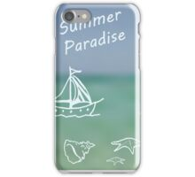 Summer Paradise iPhone Case/Skin