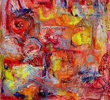 Liquid Crystalline Fantasy 1 by Regina Valluzzi