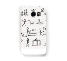 People in motions Samsung Galaxy Case/Skin