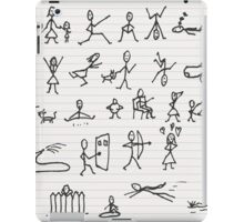People in motions iPad Case/Skin
