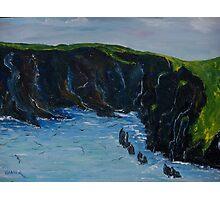Cape Clare island windward side Photographic Print