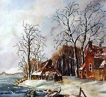 Winter by GeertWinkel