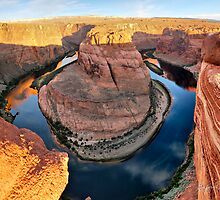 Colorado River and Horseshoe Bend by Gregory Ballos | gregoryballosphoto.com
