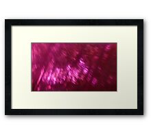 Back to the vivid forest n°8 Framed Print