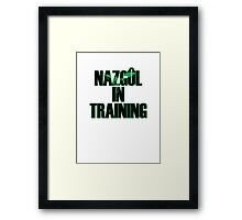 Wraith in Training Framed Print