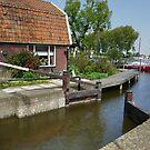 The lock at De Woude (1) by Marjolein Katsma