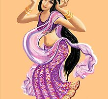 Bollywood dancing by goanna