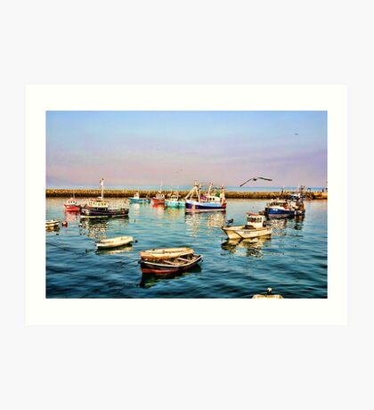 Bangor Marina  Art Print