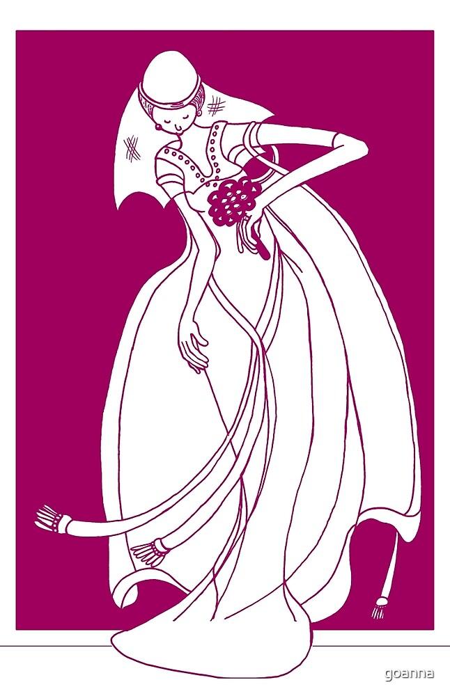 Here comes the bride by goanna