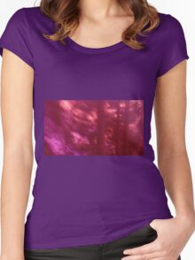 Back to the vivid forest n°9 Women's Fitted Scoop T-Shirt
