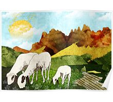 Mountain goats Poster