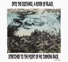 River Of Black by Davol White