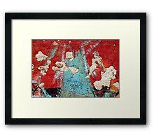 Krakatau Framed Print