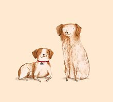 Brittany Spaniels by Sophie Corrigan