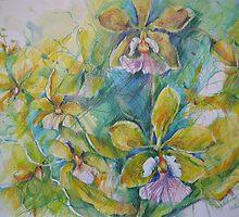 ORCHID by BrigitteHintner