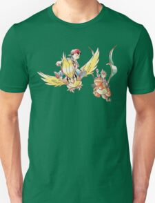 Retro Sky Battle T-Shirt