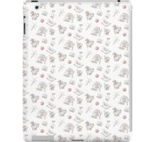 "Fairy Tale ""Sprookje"" Pattern: Sienna and Red iPad Case/Skin"