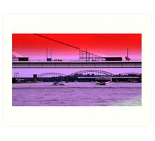Bridges of Cologne Art Print