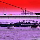 Bridges of Cologne by TCL-Cologne