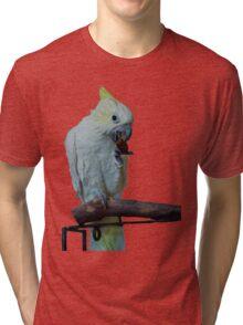 Cockatoo Wants a Grape? Tri-blend T-Shirt