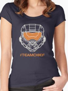 TEAM CHIEF Women's Fitted Scoop T-Shirt