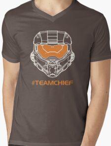 TEAM CHIEF Mens V-Neck T-Shirt
