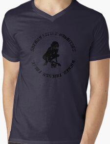 Wicked. Tricksy. False. (Distressed) Mens V-Neck T-Shirt