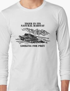 Tiger ll - Looking for prey Long Sleeve T-Shirt