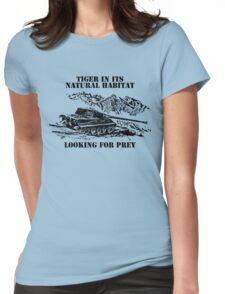 Tiger ll - Looking for prey Womens Fitted T-Shirt