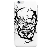 Skull of branches iPhone Case/Skin