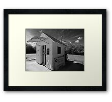 Smallest Post Office in the United States Framed Print