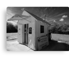 Smallest Post Office in the United States Canvas Print
