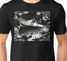 Shadows & Spirals Unisex T-Shirt