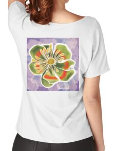 Tulip tree flower Women's Relaxed Fit T-Shirt